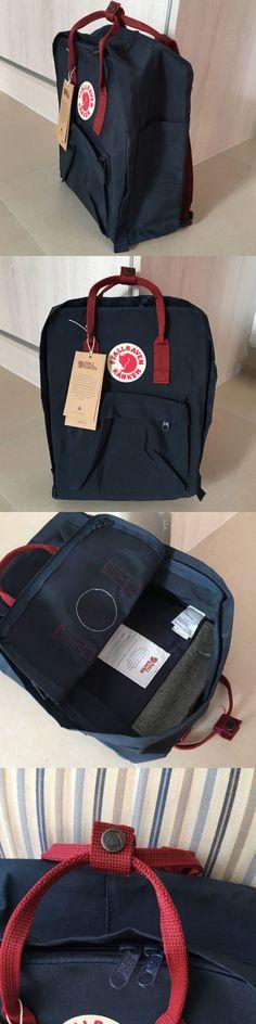 Bags and Backpacks 163537: Fjallraven Kanken Classic Backpack School Bag - Mutil Blue Bag - Medium -> BUY IT NOW ONLY: $32.99 on eBay!