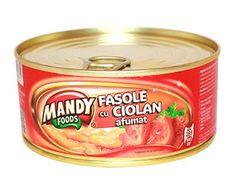 Fasole cu Ciolan Afumat - Conservă easy-open, 300 g