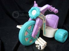 Cabbage Patch Kids Big Wheel- this is another toy I remember clearly.