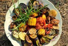 Овощи на гриле на мангале: рецепт с фото