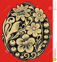 hohloma | Hohloma Royalty Free Stock Photos - Image: 4447128