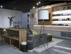L'Usine a élargi ses collections et propose davantage de meubles muraux.