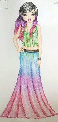Top-model Top Model Dress, Dress Models, Paper Doll Template, Fantasy Model, Pretty Drawings, Princess Drawings, Art Model, Girly Girl, Pretty Face