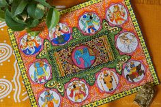 Design Decor & Disha: Indian Art Gallery Wall: Pattachitra Painting