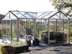 T-Classic drivhus med 12 års garanti & fri levering - Willab Garden