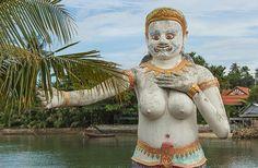 Figuren in der Nähe des Big Buddha | Idylle pur auf Koh Samui - Meine 9 ganz persönlichen Tipps, wie Du einen Traumurlaub auf Koh Samui verbringst | www.reisehappen.de