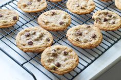 the BEST chocolate chip cookie- soft, chewy, and caramel-y thanks to the browned butter