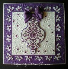 Heartfelt Creations Holly Ornament