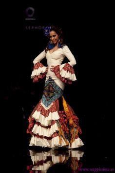 Traje de Flamenca - Aurora-Gavino - Simof-2011