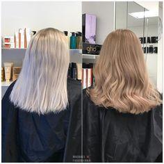 Blonde Natural Hair, Dark Blonde Hair Color, Blonde Hair Looks, Ash Blonde Hair, Aesthetic Hair, Light Hair, Gorgeous Hair, Balayage Hair, Hair Lengths