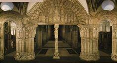 Pórtico de la Gloria, Catedral de Santiago de Compostela, finales del XII - principios del XIII.