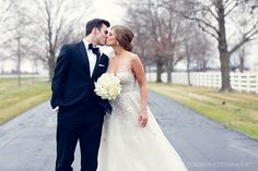 Audrey and Tyler - Just Married! Columbus, Ohio New Years Wedding at the Darby House Photos © Nicole Dixon Photographic