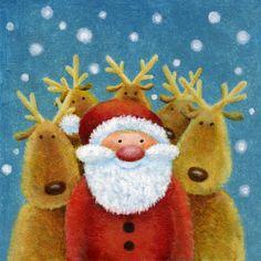 Jan Pashley #merrychristmas #illustration