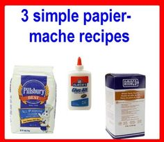 Papier-mache is ideal for making holiday decorations, animal shapes, masks, party pinatas, science fair project visuals, wall sculptures, and more. Best of all, this paper craft is not difficult to accomplish with very simple materials.