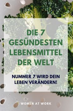 Die 7 gesündesten Lebensmittel der Welt - Famous Last Words Famous Last Words, Spirulina, Healthy Lifestyle, Health Fitness, About Me Blog, Challenges, Weight Loss, Motivation, Eat