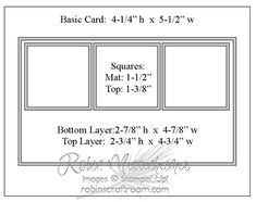 """layout idea, can sub 1-1/4"""" Square Punch and the 1-3/8"""" Square Punch"""