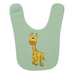 Giraffe Baby Bib