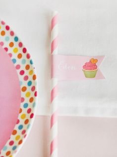 """Cute as a Cupcake"" Baking Themed Party"