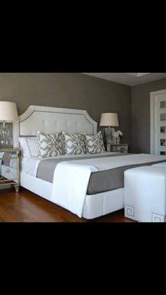 White and grey room idea