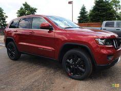 "New vehicle  JEEP GRAND CHEROKEE ALTITUDE  20"" WHEELS AND A HEMI"