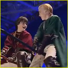 Daniel Radcliffe: 'Harry Potter' Behind The Scenes Clip with Tom Felton