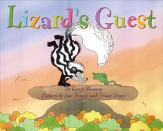 A generou lizard shows a selfish skunk the meaning of friendship in this clever, humorous tale.