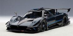 AUTOart | 1/18 | Pagani Zonda Revolution - Blue/Black Carbon Fiber