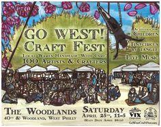 GO WEST! Craft Fest: Spring Vendor List! Saturday, April 25th