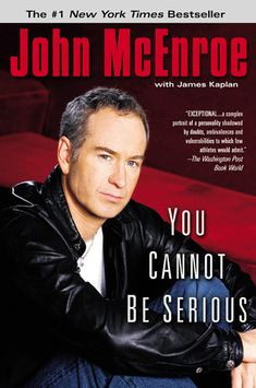 find this pin and more on the new york times best sellers john mcenroe