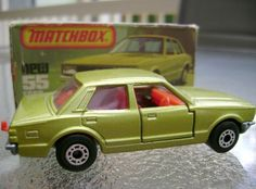 Matchbox Cars - some of my FAVORITE toys! These were always much cooler than Hot Wheels!