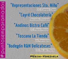 Buen día #Merida !  Aquí nos encuentran -> #puntosemparamados  Y dando la bievenida a un nuevo punto de venta:  @chocolatescayre en el Mercado Principal de Mérida! #heladosemparamados