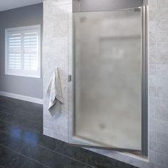 "Basco Classic 66"" x 35.63 Pivot Single Swing Shower Door"