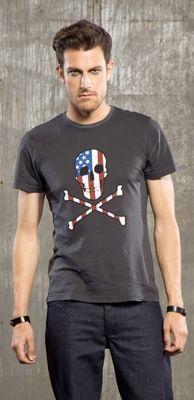"""LIP SERVICE LSMPA """"Skull"""" tshirt #M16-390"""