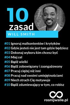 10 zasad sukcesu według Will Smith #rozwój #motywacja #sukces #pieniądze #inspiracja #rosnijwsile #star #hollywood #movie #film #blog #biznes #zasady #ludziesukcesu Self Development, Personal Development, Bullet Journal Ideas Pages, Study Motivation, My Mood, Self Improvement, Motto, Picture Quotes, Quotations