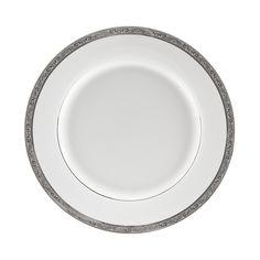 13/4L x 1 1/4H Paradise Platinum Dinner Plate/Case Of 24  Paradise, Dinner Plate, Paradise, Porcelain Dinner Plate,Round Dinner Plate,Paradise Dinnerware,Porcelain Round Dinner Plate, https://www.ktsupply.com/products/32814353031/134L-x-1-14H-Paradise-Platinum-Dinner-PlateCase-Of-24.html