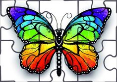 butterfly svg 'Rainbow monarch butterfly ( Butterflies ) Rainbow butterfly' Canvas Print by Butterfly Canvas, Rainbow Butterfly, Butterfly Pictures, Butterfly Painting, Butterfly Wallpaper, Monarch Butterfly, Butterfly Colors, Colorful Butterfly Drawing, Butterfly Meaning