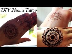 DIY: Henna Tattoo (WITHOUT REAL HENNA POWDER) - YouTube