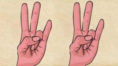 Coloca tus dedos de esta forma y lo que pasara después es tan sorprendente que no lo creerás