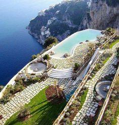 Monastero Santa Rosa Hotel and Spa in Italy