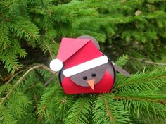 Stampin Up UK Demonstrator independent supplier paper craft scrapbooking tutorials lincolnshire: Curvy Keepsake box Robin! Christmas Favors, Christmas Paper, Christmas Bird, Handmade Christmas, Envelopes, Cute Box, Craft Show Ideas, 3d Paper Crafts, Stamping Up