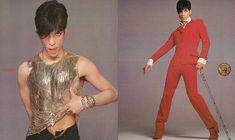 Prince par Richard Avedon pour la campagne Gianni Versace printemps-été 1996