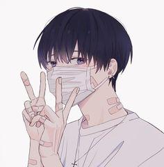 Anime Neko, Anime Oc, Art Anime, Anime Artwork, Kawaii Anime, Cute Anime Boy, Cute Anime Couples, Animes Yandere, Dark Anime Guys