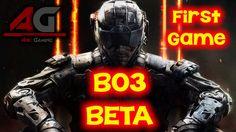 Black Ops 3 - MY FIRST GAME! (COD: BO3 BETA)