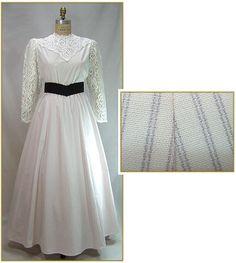 Ivory Lavender Stripe Skirt, Style #C0190-LST