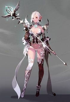 Fantasy, Mythical and More.'s photo. Female Character Design, Character Design References, Character Design Inspiration, Character Concept, Character Art, Concept Art, Fantasy Anime, Fantasy Kunst, Fantasy Girl