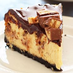 . Snickers Cheesecake Recipe from Grandmothers Kitchen.