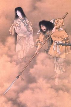 http://www.mfa.org/collections/object/izanami-and-izanagi-creating-the-japanese-islands-26669