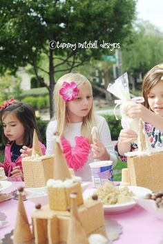 Let's Party: Beach Week: Make your own sugar sandcastle, beach party food and luau games » Tammy Mitchell Photography
