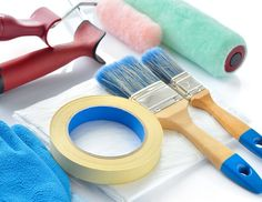 Paint Your House More Easily With The Appropriate Tools.