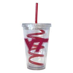 NCAA Drinkware Set Virginia Tech Hokies
